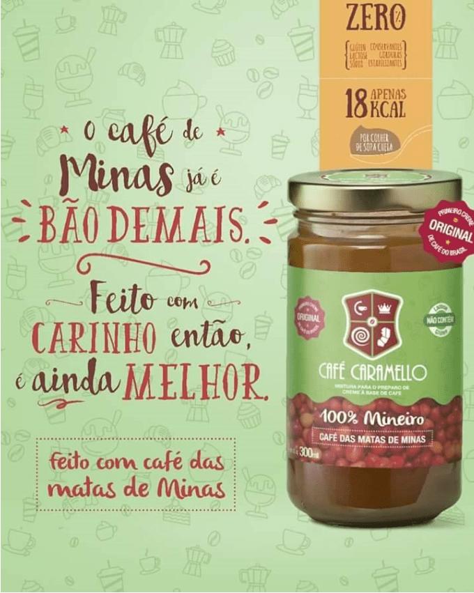 CAFÉ CARAMELLO 100% MINEIRO 300G