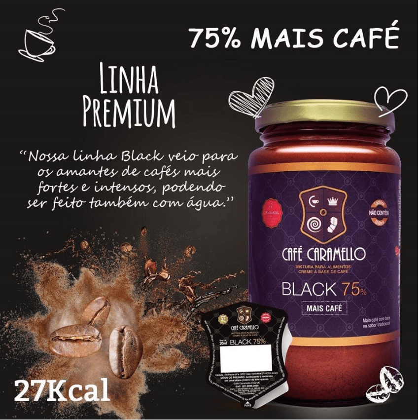 CAFÉ CARAMELLO BLACK 75% 300G