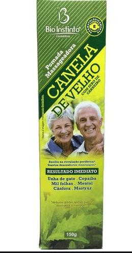 POMADA CANELA DE VELHO 100G
