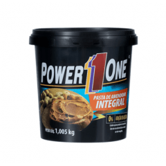 PASTA DE AMENDOIM INTEGRAL POWER ONE 1KG